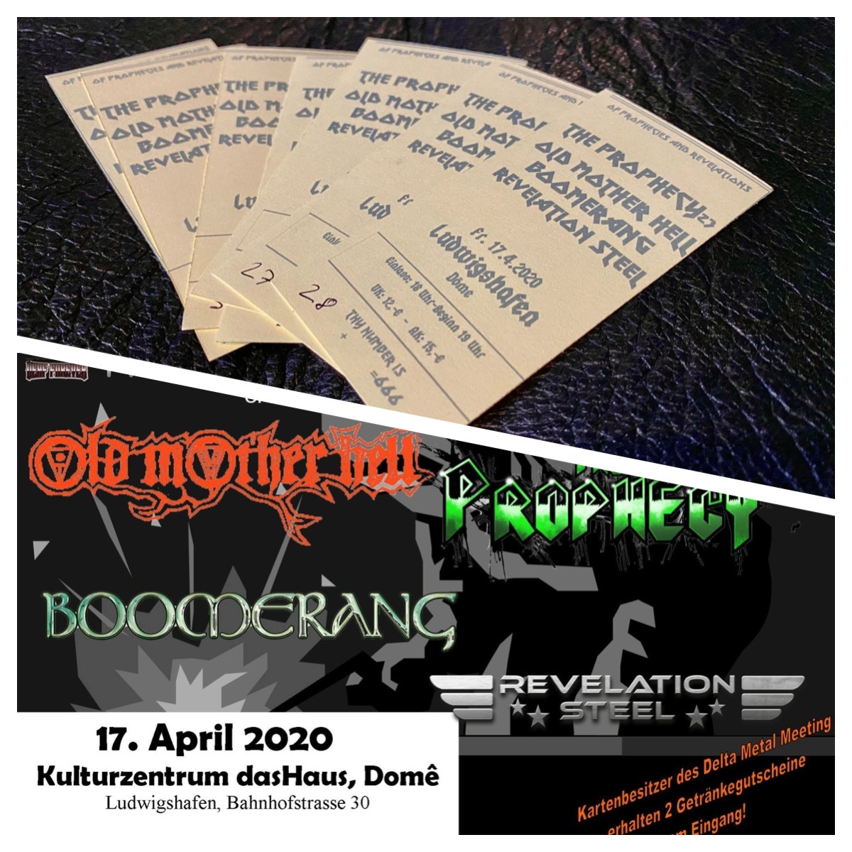 Tickets Of Prophecies And Revelations Ludwigshafen
